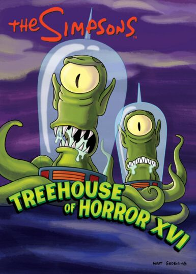 Treehouse Of Horror Xvi The Simpsons Simpsons Treehouse Of Horror The Simpsons Movie