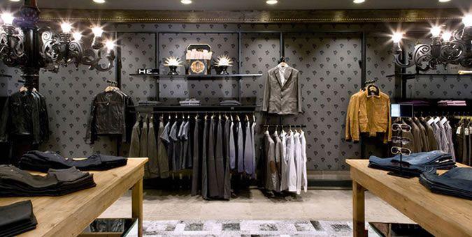 Manhattan men's clothing store