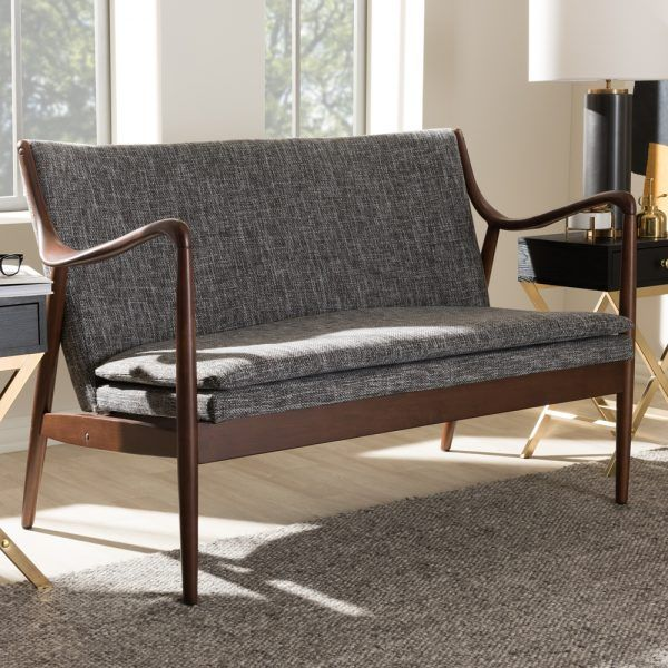 Fantastic Juliette Loveseat Finn Juhl Style 45 Loveseat Products Gmtry Best Dining Table And Chair Ideas Images Gmtryco