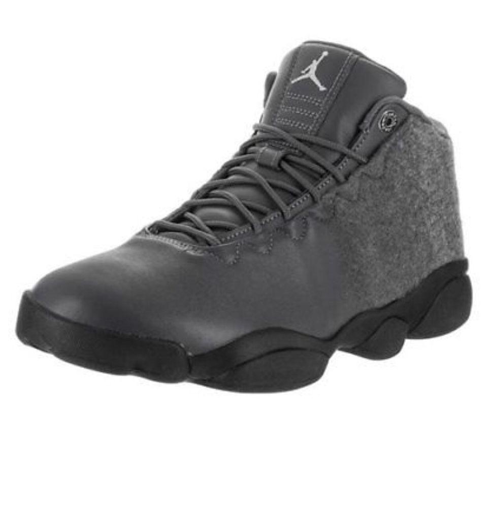 MENS NIKE AIR JORDAN HORIZON LOW PREMIUM DARK GREY 850678 003 Sz 10.5   fashion  clothing  shoes  accessories  mensshoes  athleticshoes (ebay link) aca9ff85fa
