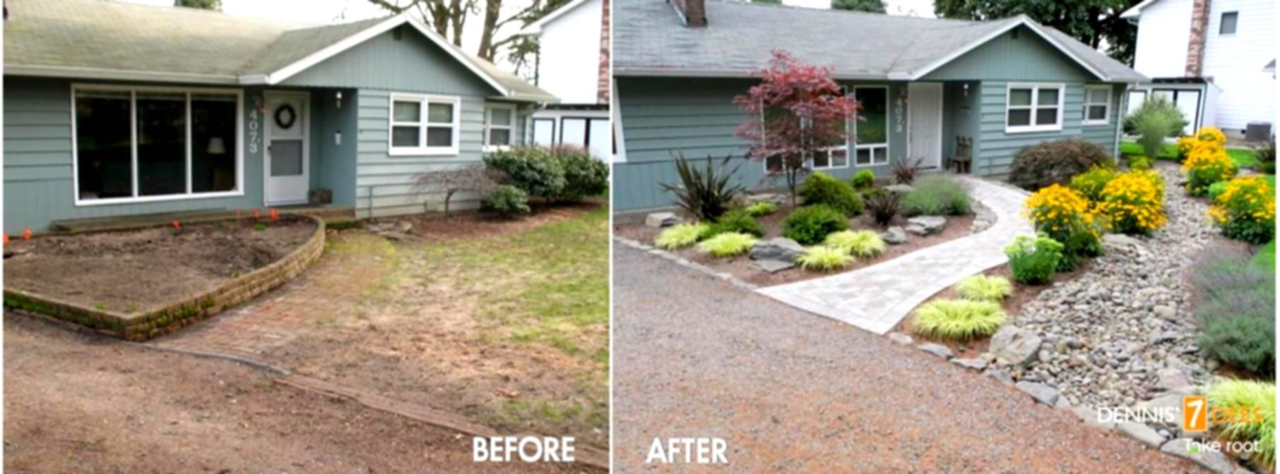 Yards on a budget simple front yard landscaping ideas on - Simple front yard landscaping ideas on a budget ...