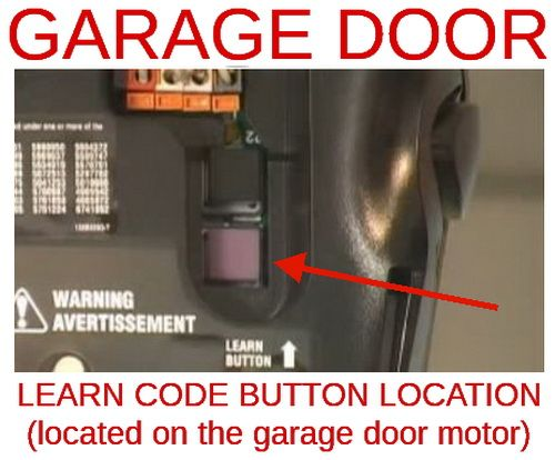 How To Change Reset The Code For Your Garage Door Opener Liftmaster Garage Door Opener Garage Door Opener Genie Garage Door