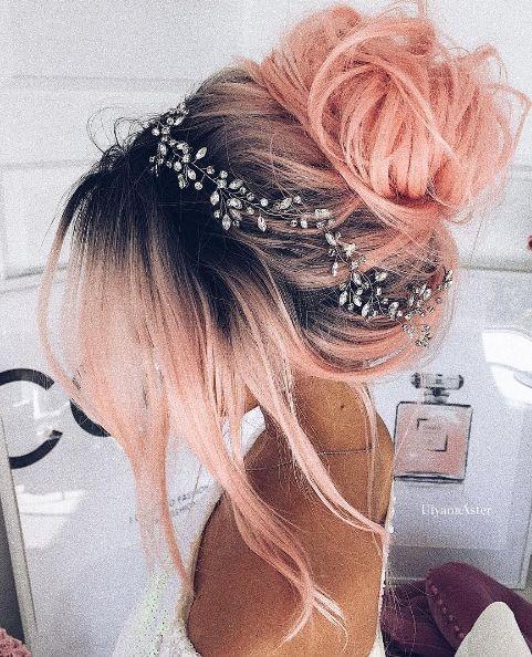 Wedding Hair Color Ideas: Wedding Hairstyle Inspiration - Ulyana Aster