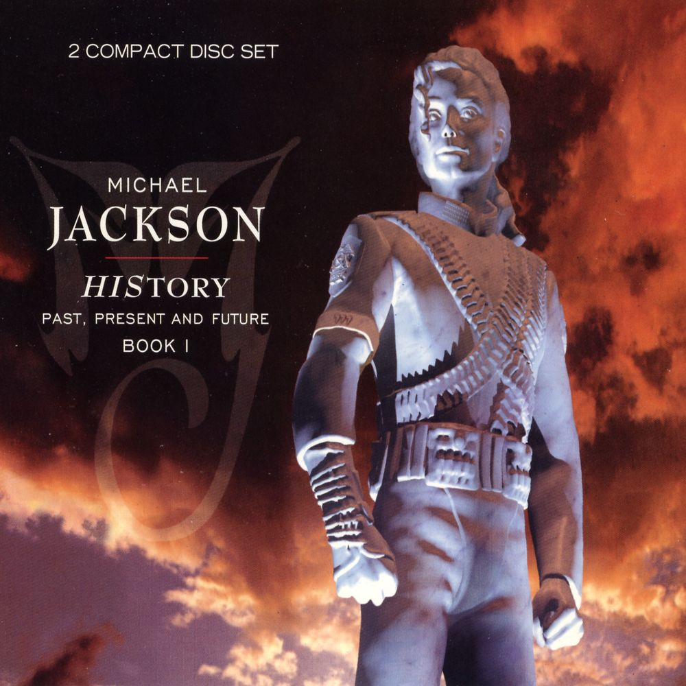 Michael Jackson History Album Cover 2