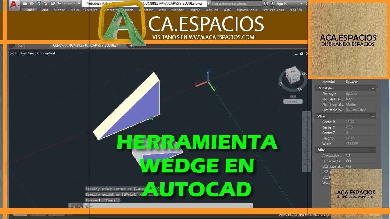 Pin by Acaespacios Espacios Diseñados on CLASES AUTOCAD
