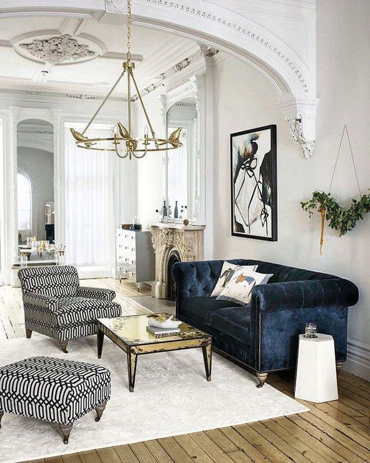 Home Decor Ideas #style #homedecor #velvetcouch | Dream Decorating |  Pinterest | Apto E Decoração