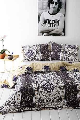 Magical Thinking Boho Stripe Duvet Cover Home Bedroom Bedroom