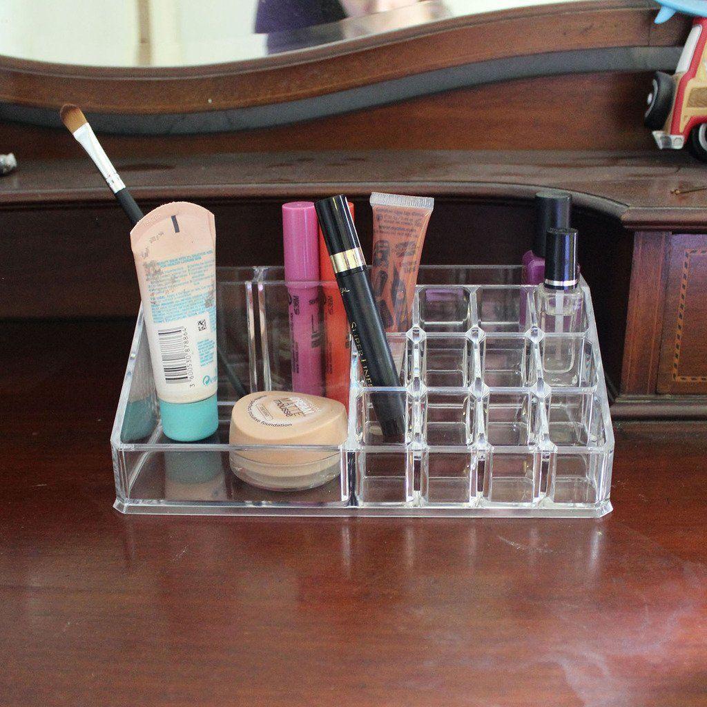 Expositor Estante de Acrílico Transparente para Organizar Maquillaje ...