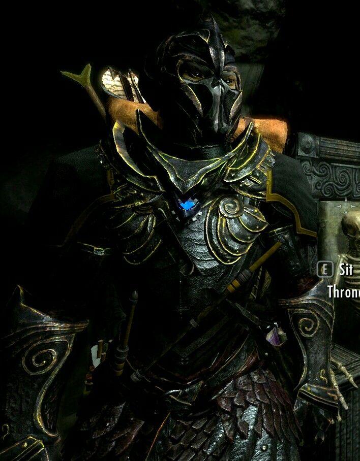 Dark Elves Skyrim Armor