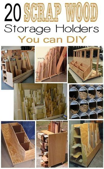 20 Scrap Wood Storage Holders You Can Diy Woodworking