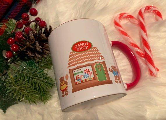 Personalised Christmas Mugs - Perfect for Christmas Eve Boxes! Mug cake mug! Fantastic secret Santa #secretsantaideasforwork
