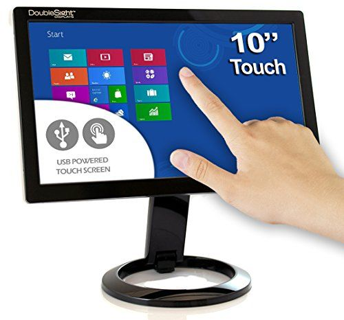 Doublesight Smart Usb Touch Screen Lcd Monitor 10 Screen Portable No Video Card Required Lcd Monitor Digital Menu Monitor