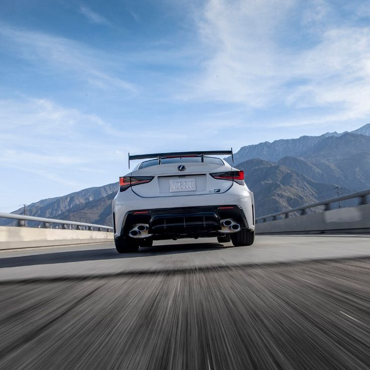 The 2020 #Lexus #RC F Track Edition Leads The Way In