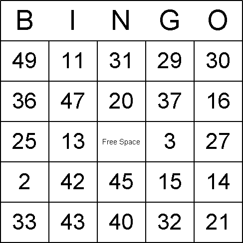 Holiday Multiplication Bingo Printables | is a printable set of ...