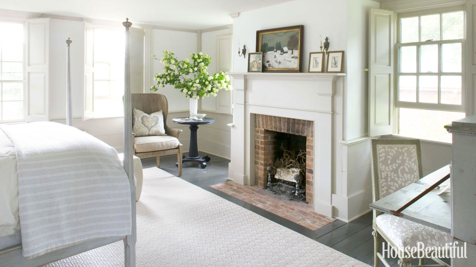 House Beautiful.com 1830S Greek Revival House Httpwww.housebeautifuldesign