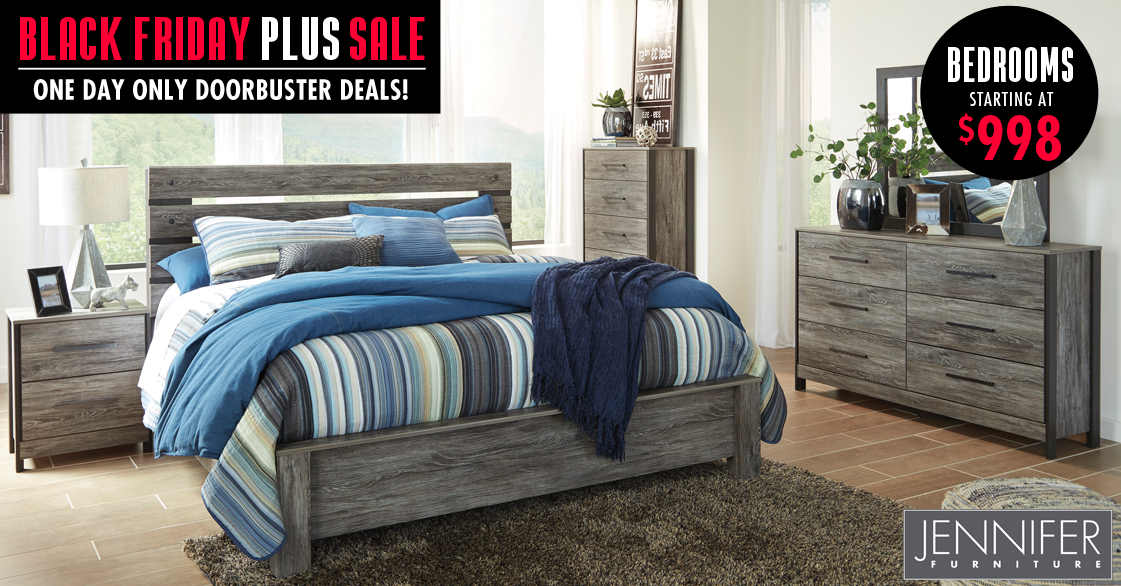 One Day Only Black Friday Sale Bedroom Furniture Jennifer Furniture Furniture Furniture Store Black friday bedroom furniture deals