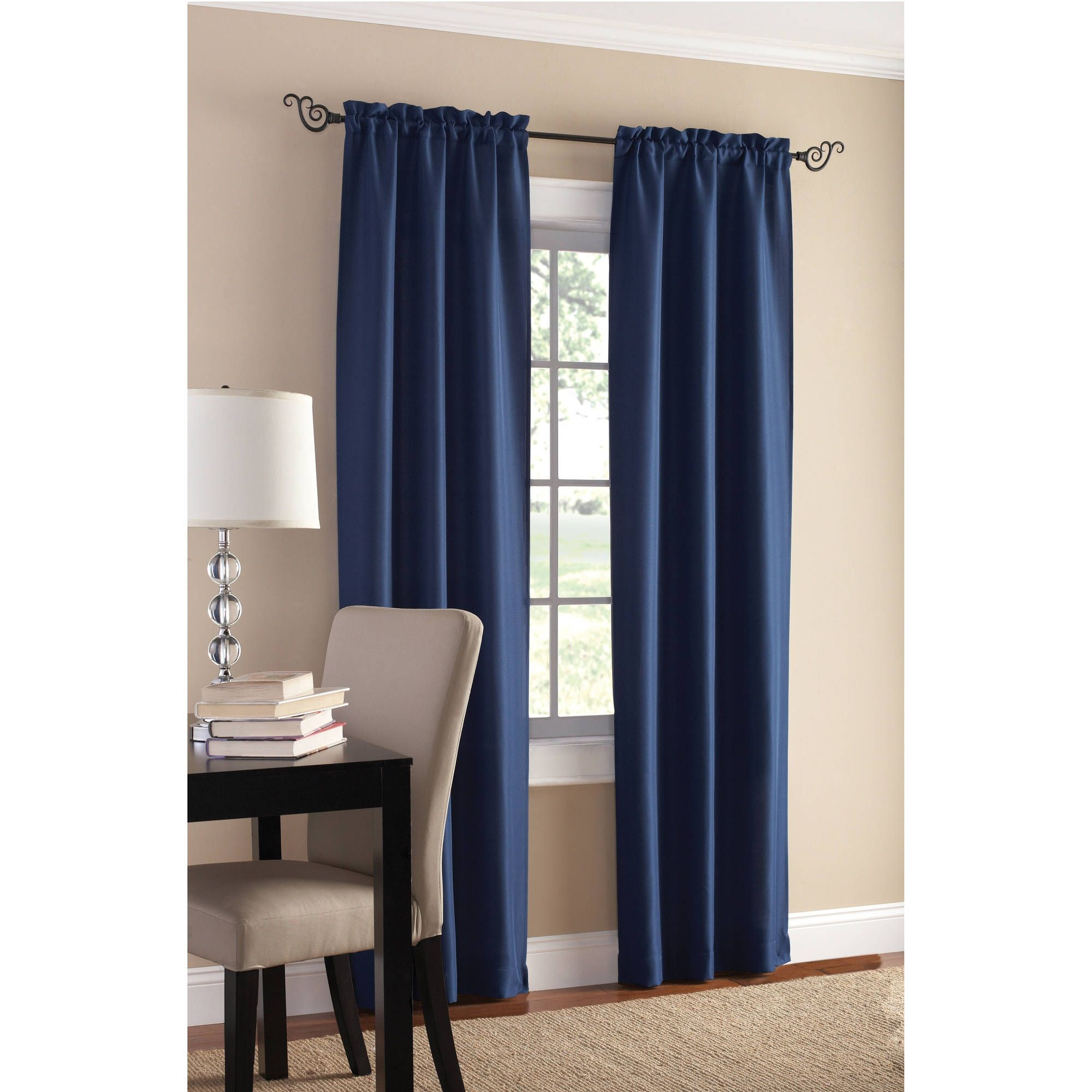 Royal blue kitchen curtains latulufofeed pinterest
