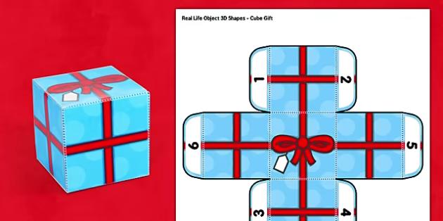 Interactive 3d Cube 3d Cube Shape Gift Box Paper Model Cube Paper Models Paper Cube
