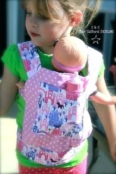 Baby Doll Carrier Sewing Pattern Free Backpack Sling Just