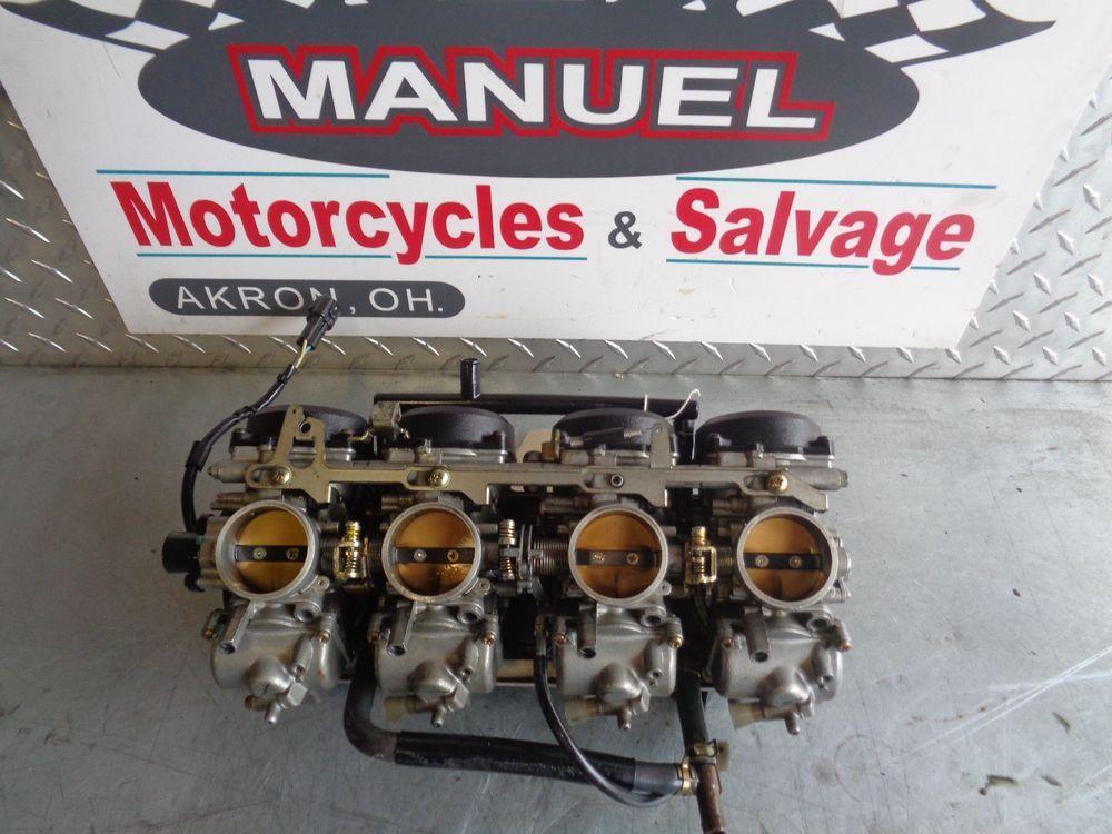 1998-1999 Kawasaki ZX9r Carburetor carbs gas and fuel
