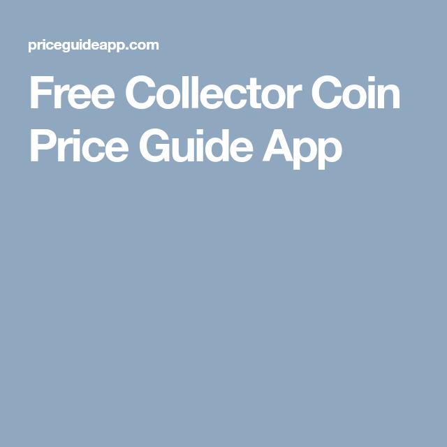Free Collector Coin Price Guide