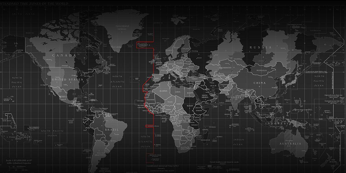 Black and White Map Random Images Pinterest Twitter cover - fresh interactive world map desktop background