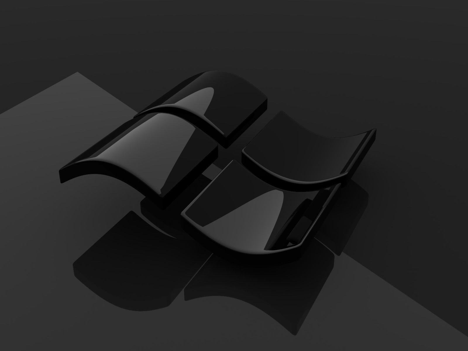 The Colour Black Wallpaper Windows Papel De Parede Do Windows Imagem De Fundo De Computador Hp Wallpaper Hd