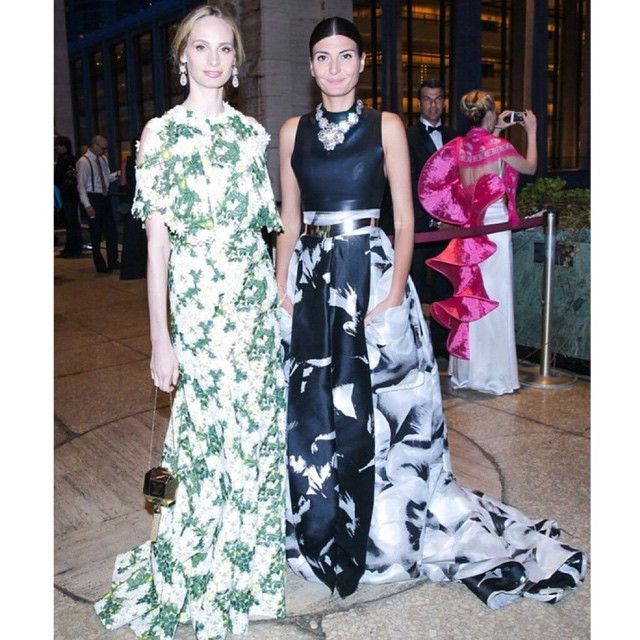 #GiovannaBattaglia Giovanna Battaglia: Thank you to most glamorous host Lauren @thelsd for the great night at @abtofficial 75th Anniversary Gala and thank you @hamishbowles Repost @voguemagazine. #JustAnOtherMondayNightInNyc