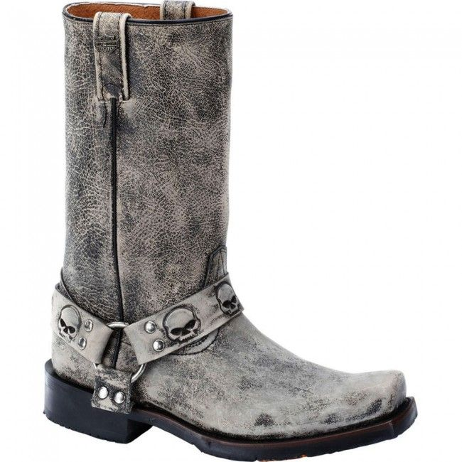 93145 Harley Davidson Men's Rory Motorcycle Boots - Slate www ...