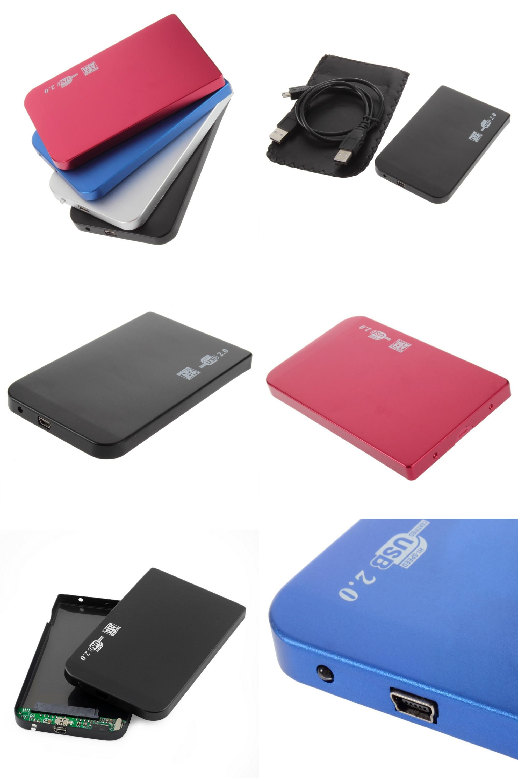 Visit To Buy Usb 20 Hdd Hard Drive 25 Inch Sata Box 2tb External Pouch Harddisk