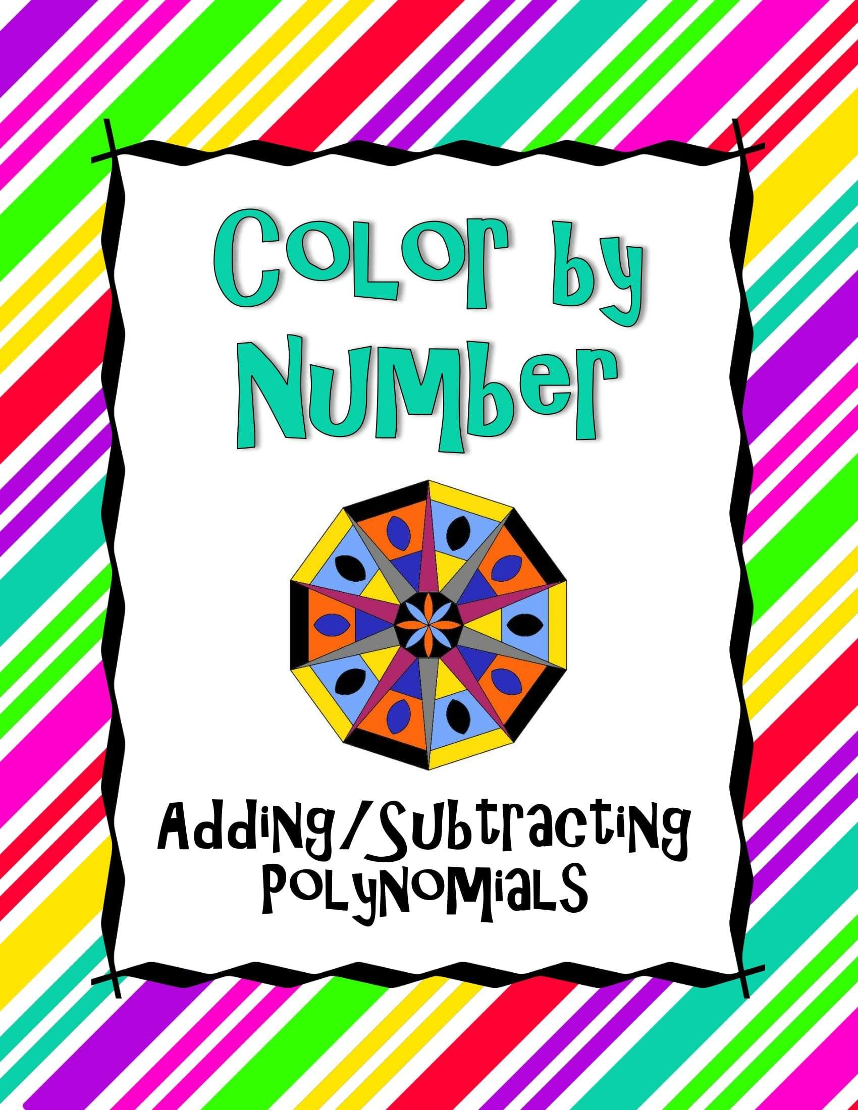 how to classify polynomials by terms