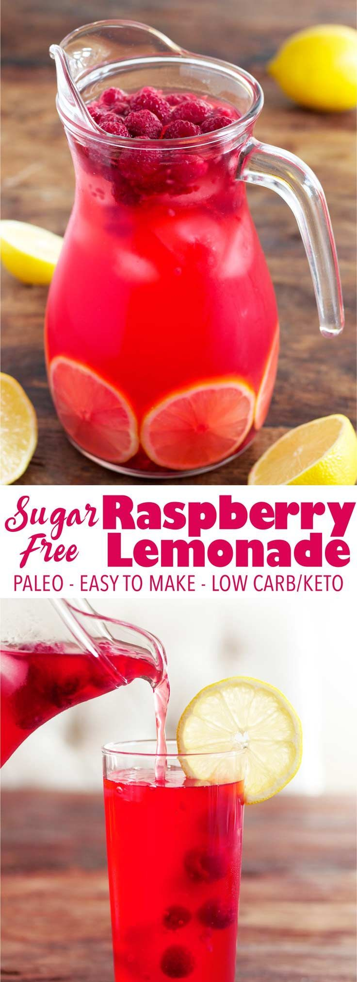 than 5 minutes to make, 35 calories per serving, no sketchy ingredients, and loaded with vitamin C! Low carb/keto, paleo, vegan.