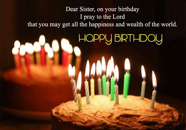 Birthday Wishes Ideas Sister ~ Happy birthday wishes for sister hd images sister poem poem