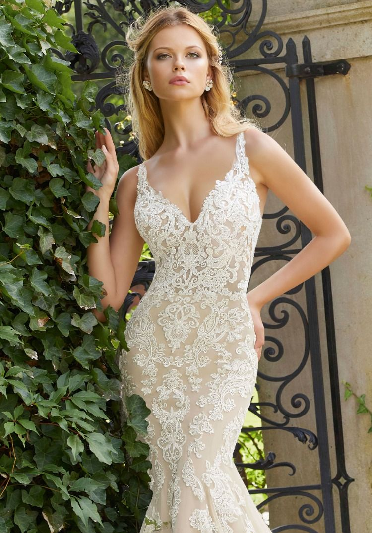 Pascha By Mori Lee Bridals This Gown Features Moonstone Crystal