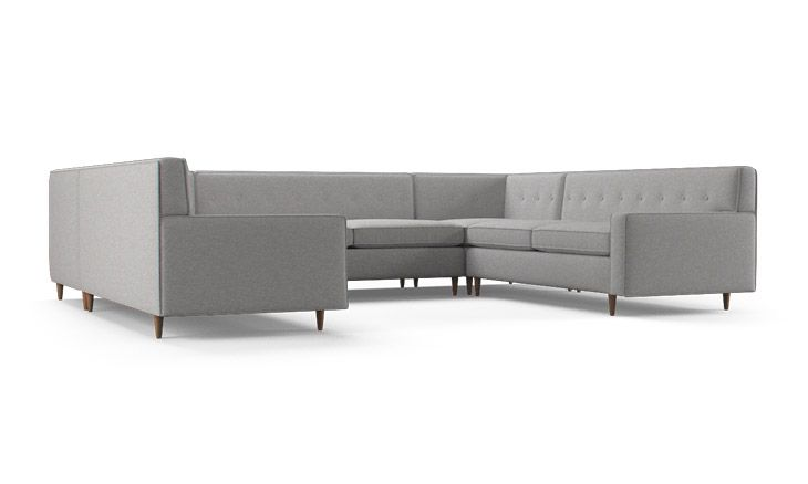 Cole U Sofa Sectional Living Room Furniture Layout Cheap