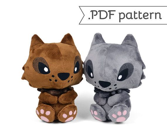 Werewolf Wolf Monster Lycan Lycanthrope Plush Sewing Pattern .pdf ...