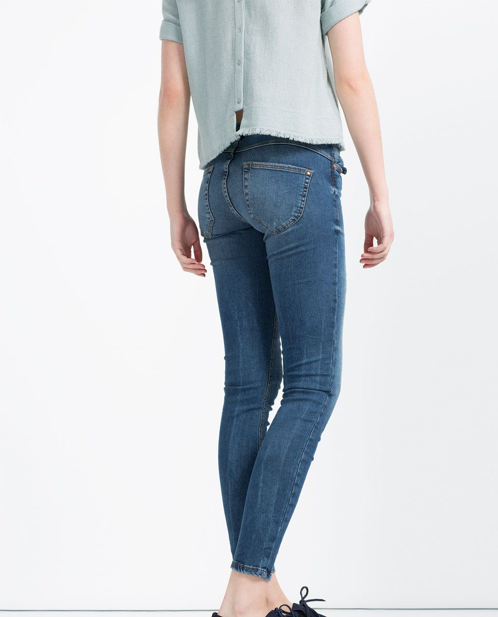 9d1c8960bf Image 1 of PUSH-UP JEANS from Zara