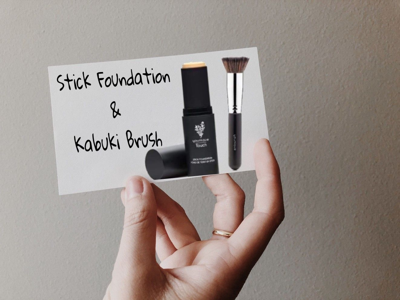 This Tsa Approved Foundation Stick Paired With The Kabuki