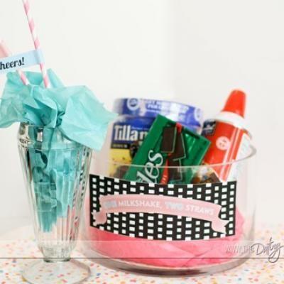 milkshake kit for two anniversary gift milkshake anniversary