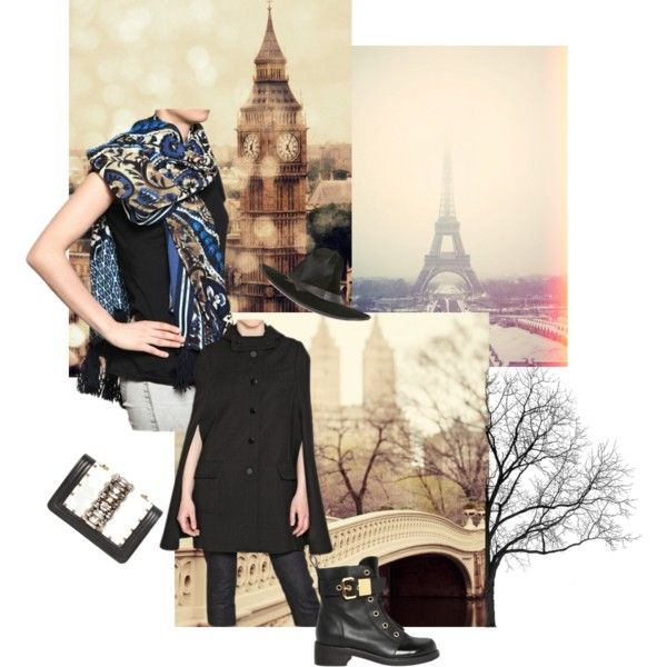 Baroque prints this winter = city chic!