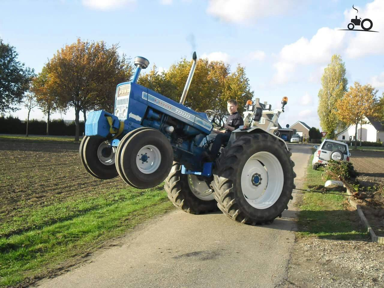 Ford 7000 Vintage Tractors Tractors New Tractor