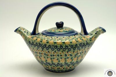 The 1 Liter Double Spouted Teapot Theepot