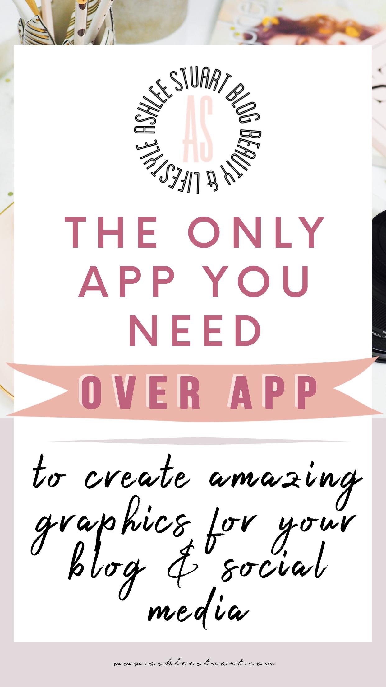 Creating Pinterest graphics & Instagram Stories for