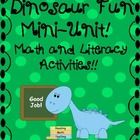 This little bundle is sure to be a great addition to your dinosaur theme!  This mini-unit includes: - complete/incomplete sentence sort -carnivore/...