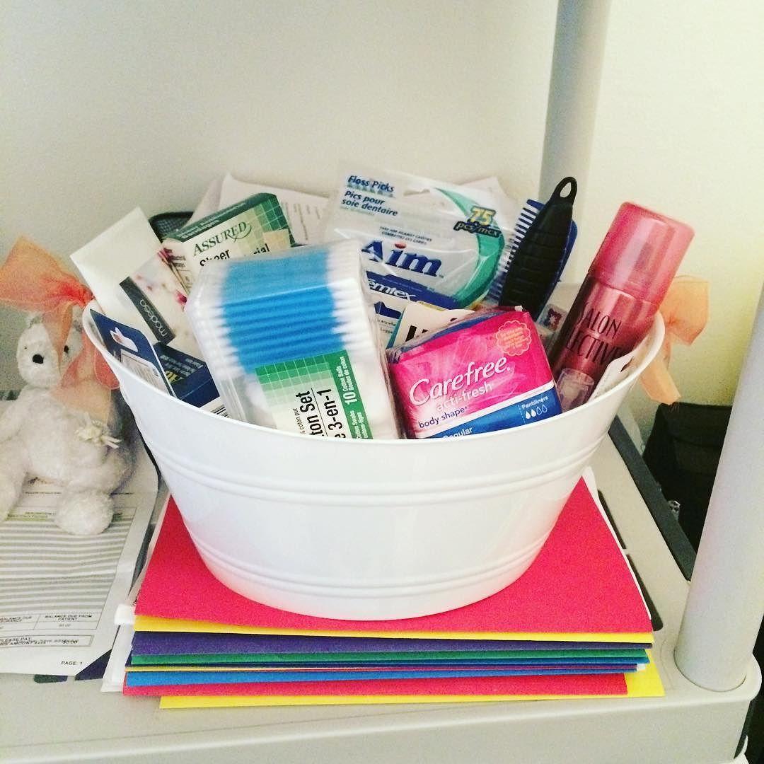 Just Put Together Another Bathroom #basket For A #wedding