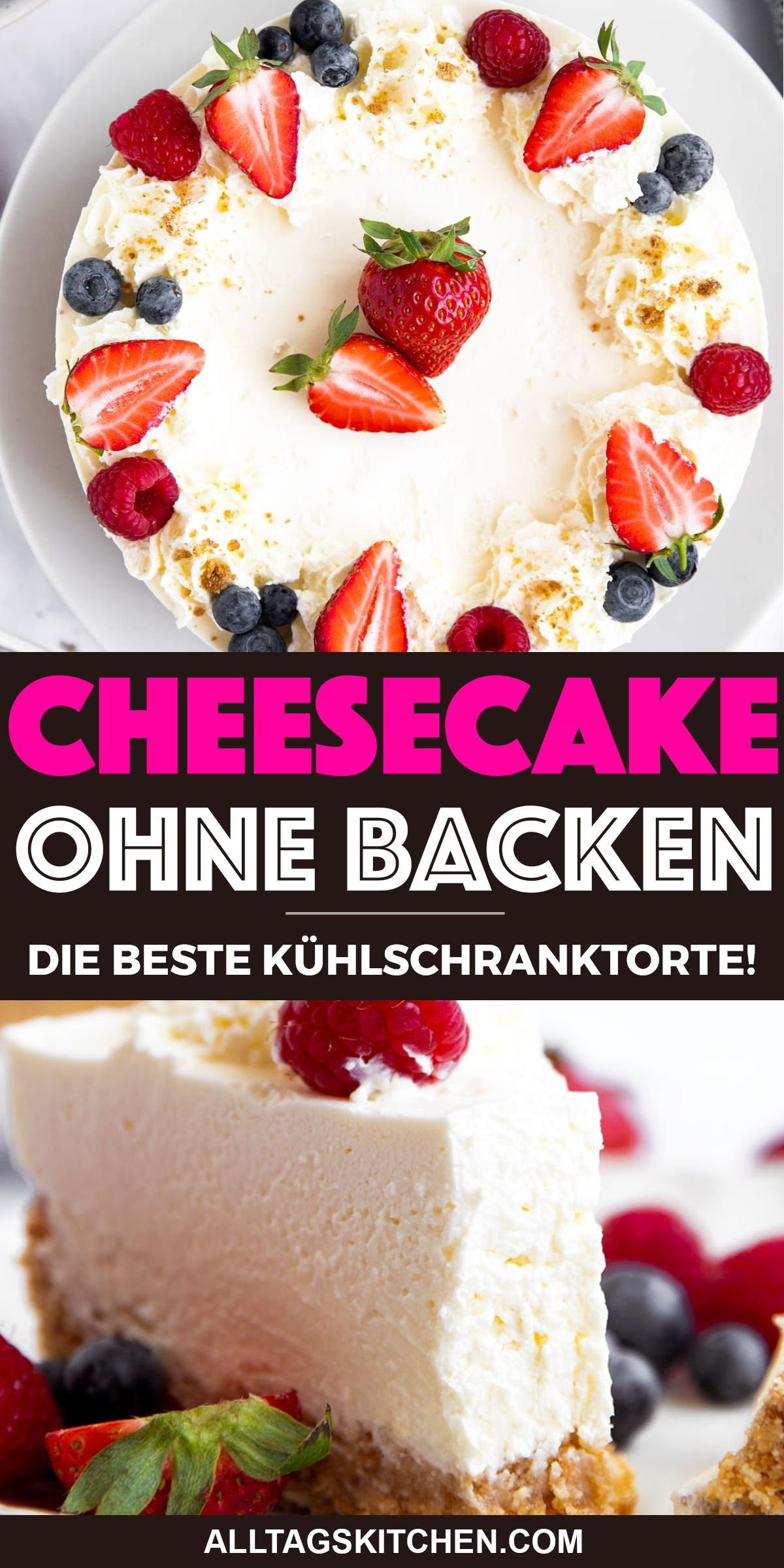Bild von Einfacher Cheesecake Ohne Backen [Rezept mit