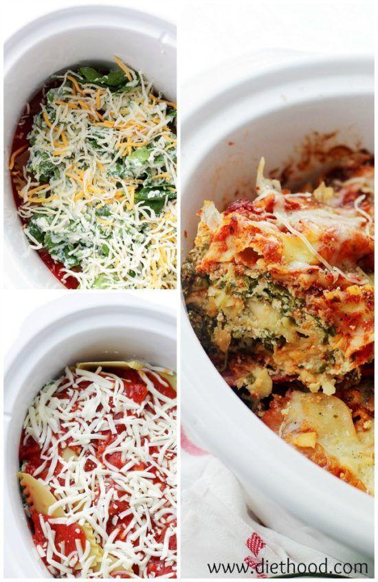 Crockpot Lasagna Best Ever Recipe Video Tutorial