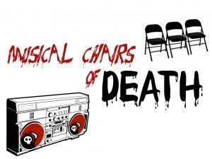 Musical Chairs Of Death Youth Group Games Youth Ministry Games Games For Teens