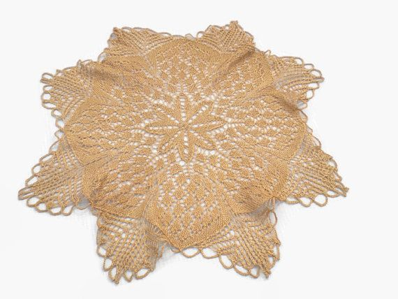 Vintage Knit Doily . by Majilly on Etsy