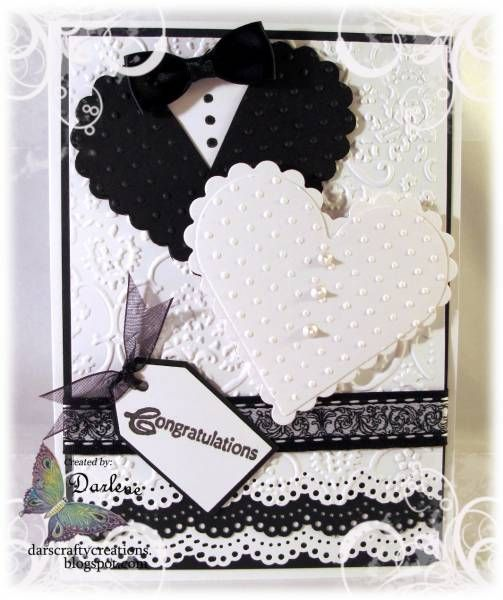 A Black Tie Affair Wedding Cards Wedding Anniversary Cards Cards